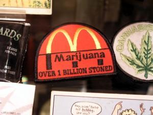 Humorous Marijuana Patch